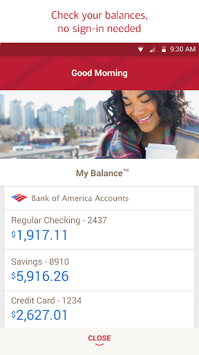 Bank of America Mobile Banking for PC
