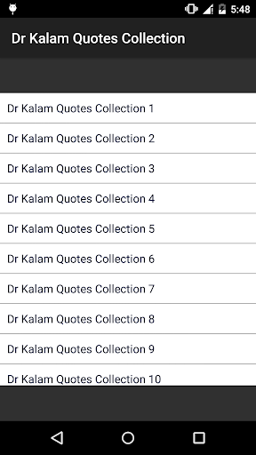 Kalam Quotes in English