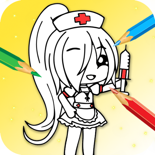 Gacha Coloring Book Game Applications Sur Google Play