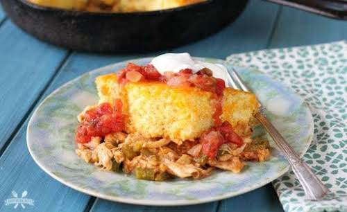 "Chicken Tamale Pie ""This Chicken Tamale Pie is a variation of the..."