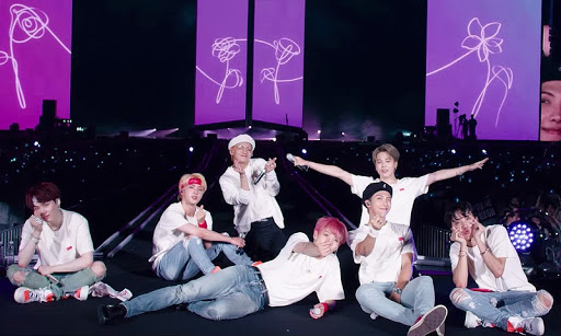 Bts Love Yourself era Stage photo