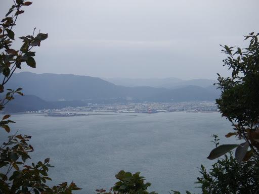 敦賀市がよく見えて