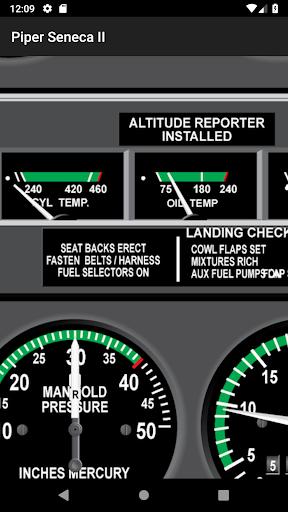Download Piper Seneca II PA34 Pilot Training App MOD APK 7