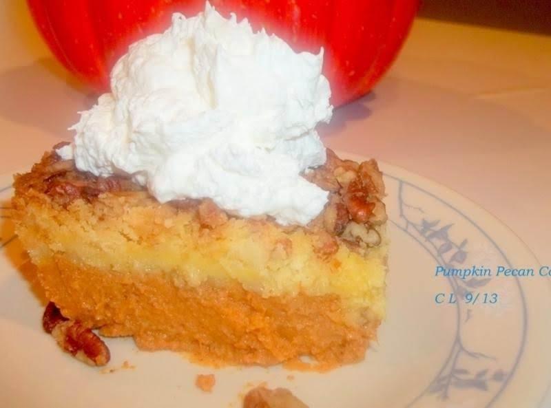 Pumpkin Yellow Cake Mix Pecan Recipe