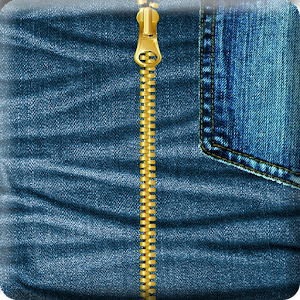 Jeans Zipper Screen Locker