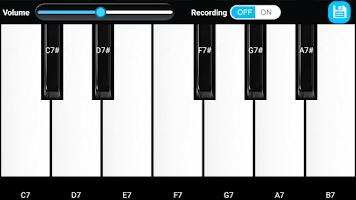 Screenshot of Piano Keyboard