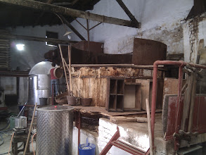 Photo: Soapmaking factory is located exactly in the same place as it was originally built, it's the same (small) size and it's still operating by manual labour of three workers, including the owner