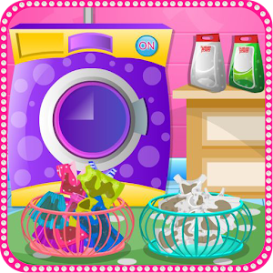 Laundry clothes girls games for PC and MAC