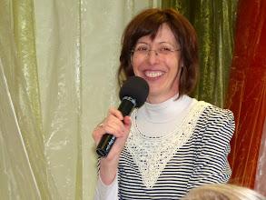 Photo: Korvin Hedvig, a 2012. április 15-i Istentisztelet házigazdája