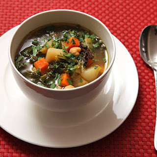 Hearty Winter Vegetable Soup.