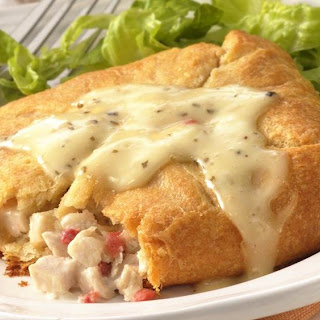 Caesar Chicken Salad Squares
