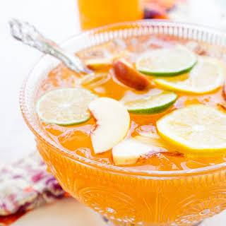Spiked Peach Punch.