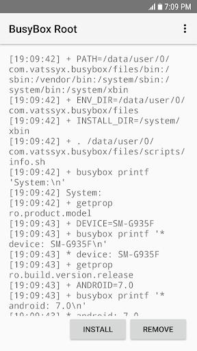 BusyBox Root  screenshots 4