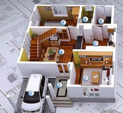 3D house plan designs 1.4 screenshots 2