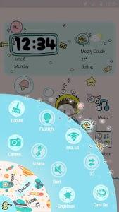 Bebe Bubbles - Hola Theme screenshot 1