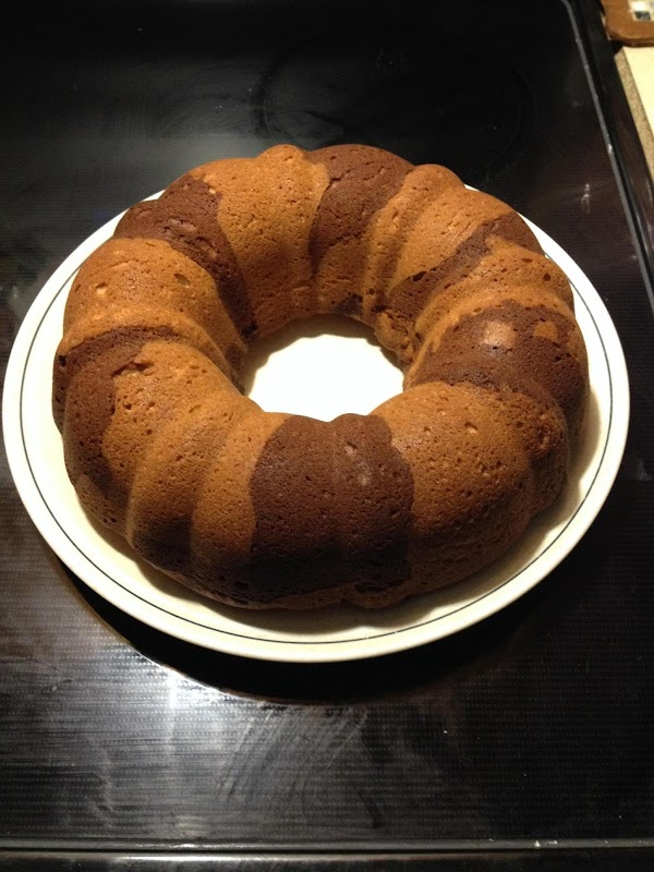 Old- Fashioned Molasses Marble Cake Recipe