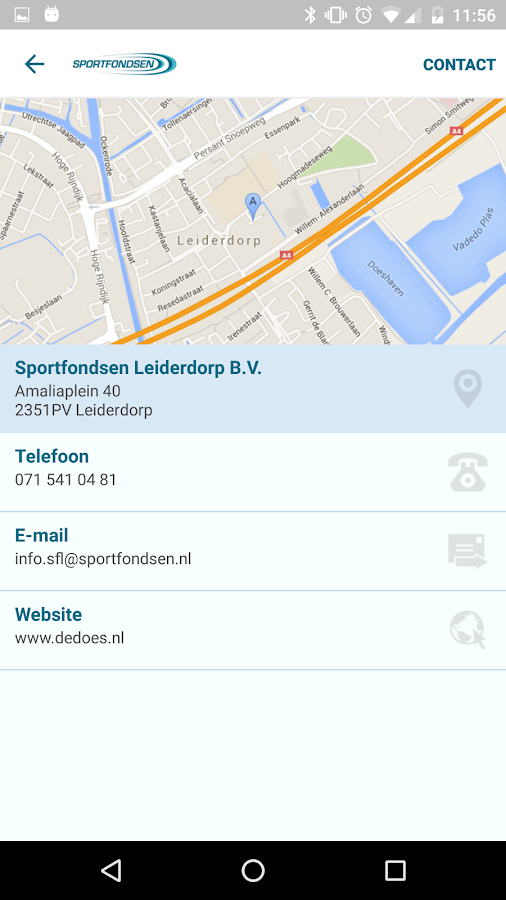 Sport/Recreatiecentrum De Does: screenshot
