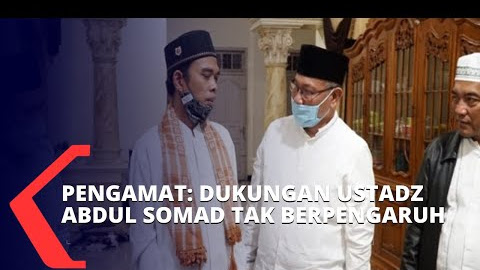 Akhyar Kalah Versi Quick Count, Pengamat: Dukungan Ustadz Abdul Somad Tak Berpengaruh di Medan