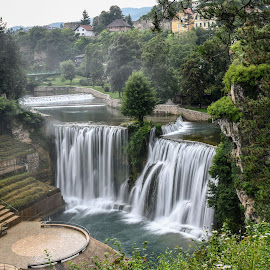 Vodopad Jajce by Jovica Panić - Landscapes Waterscapes ( waterfalls, waterscape, waterfall )