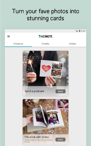 TouchNote: Cards & Gifts 7.4.4 screenshots 8