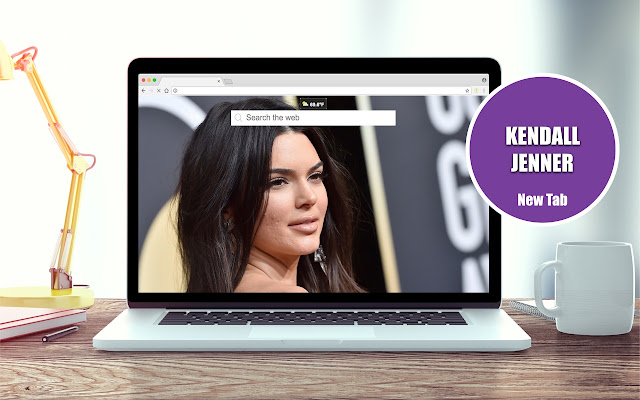 Kendall Jenner New Tab Theme