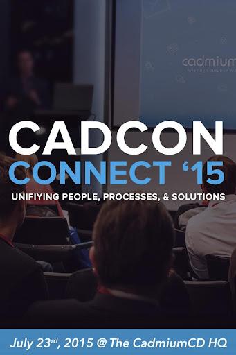 CadCon 2015