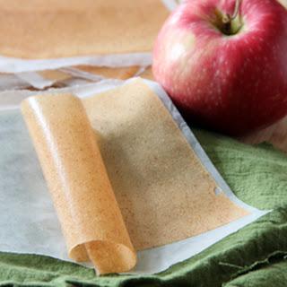 Apple Cinnamon Fruit Leather