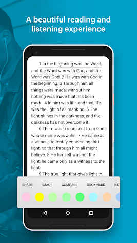 YouVersion Bible App + Audio, Daily Verse, Ad Free Screenshot