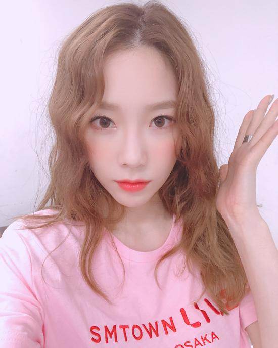 taeyeon curly 11