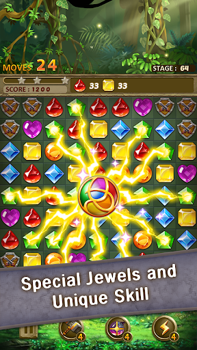 Jewels Jungle : Match 3 Puzzle for PC