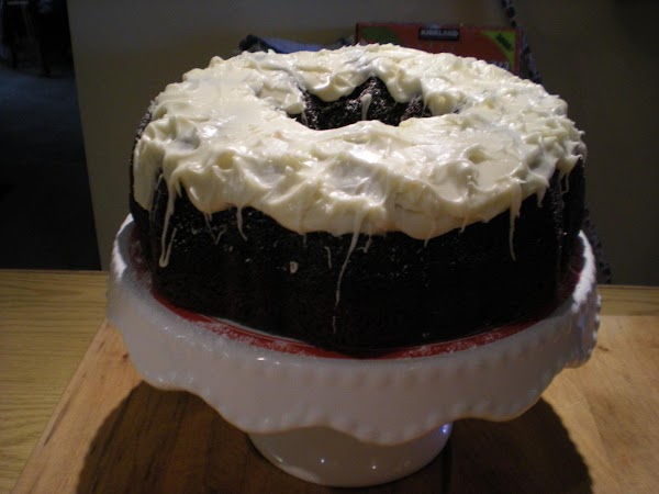 Combine frosting ingredients and mix with a hand or stand mixer. Spread frosting on...