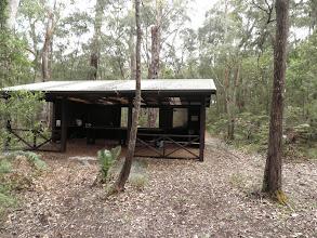 Photo: Saturday night camp Yeagarup Camp Ground (shelter from the rain)