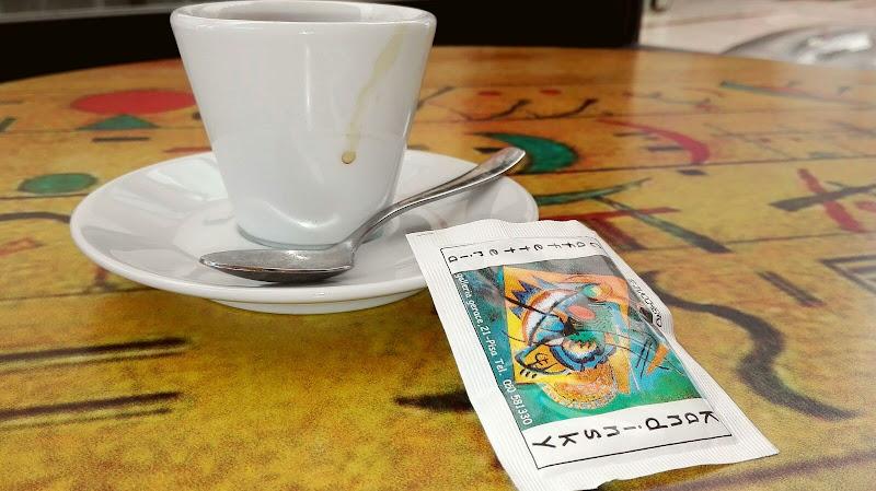 Un caffè in arte al caffè kandinskij di dario toccafondo