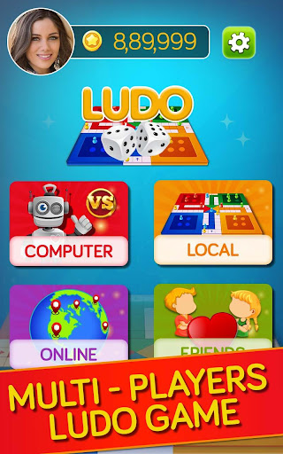 Ludo Game : Free Multiplayer Ludo, The Dice Game  screenshots 6