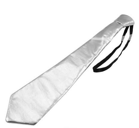 Slips silver metallic