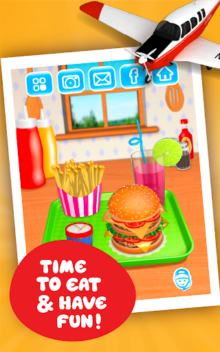 Burger Deluxe - Cooking Games apkpoly screenshots 11