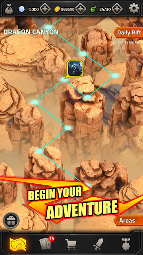 Epic Match 3 RPG - Heroes of Elements apkmr screenshots 5