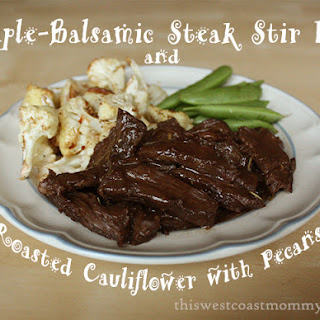 Maple-Balsamic Steak Stir Fry Recipe