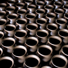 Pot making by Madhu Soodanan - Products & Objects Industrial Objects