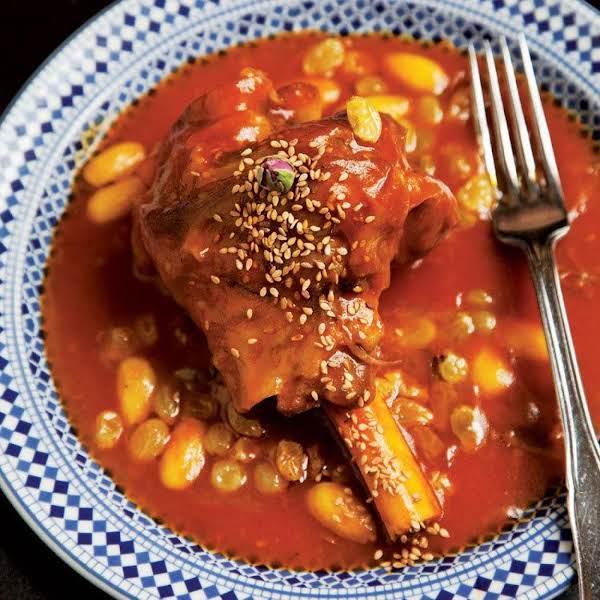 Mrouzia (honey-braised Lamb Shanks) Recipe