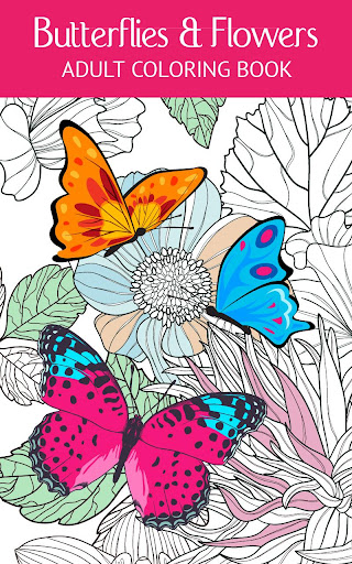 Butterfly Flower Art Therapy
