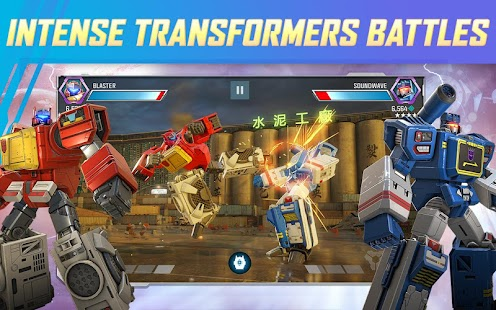 TRANSFORMERS: Forged to Fight Screenshot