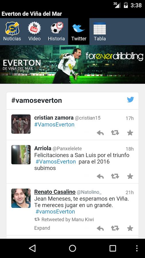 Everton de Viña del Mar- screenshot