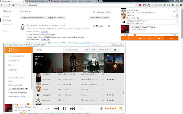 Google Music Ultimate Shortcuts&Player