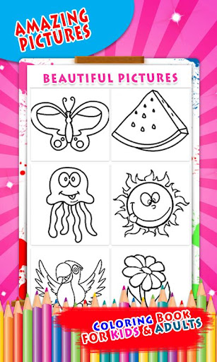 Coloring Book & Drawing book -  Coloring Games 1.0.2 screenshots 6