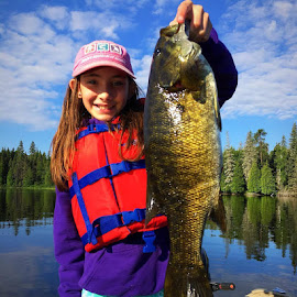 The Bass by Melissa Ervin - Sports & Fitness Watersports