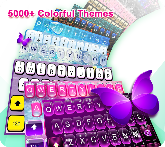 TouchPal Keyboard-Cute Emoji,theme, sticker, GIFs Android App Screenshot