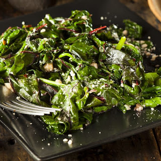 Sautéed Spinach With Roasted Garlic