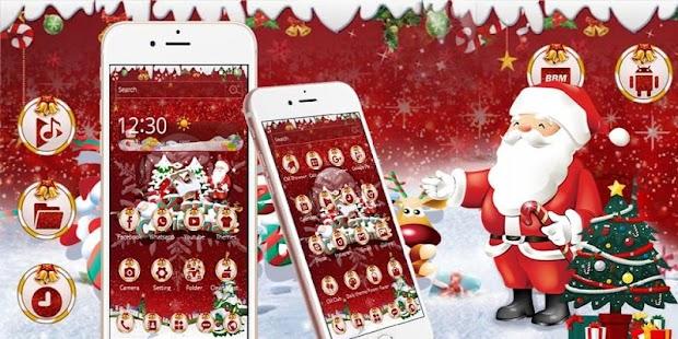 Christmas Santa Claus Wallpaper - náhled