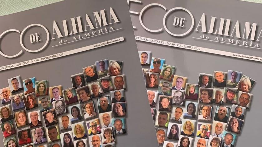 Simbólica portada del número 40 de la revista.
